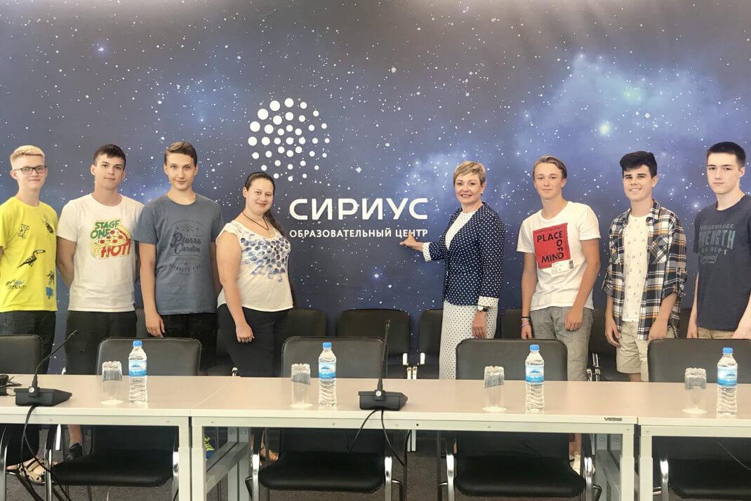 Участники проектной программы «Большие вызовы» встретились с Губернатором Мурманской области М.В. Ковтун