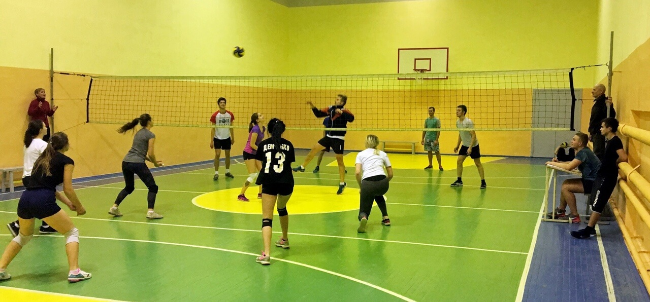 Завершилась серия волейбольных турниров