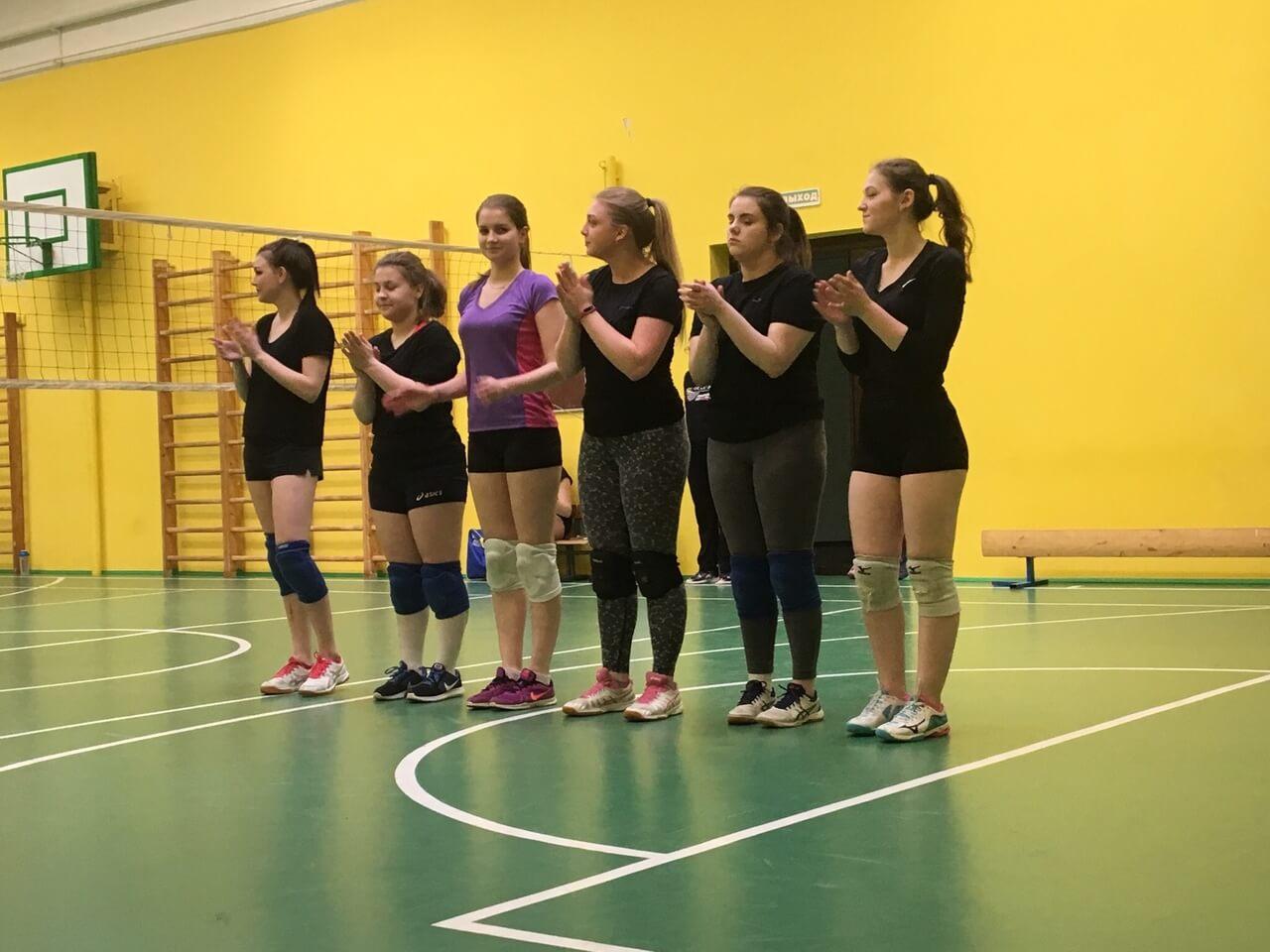 Поздравляем наших волейболисток!