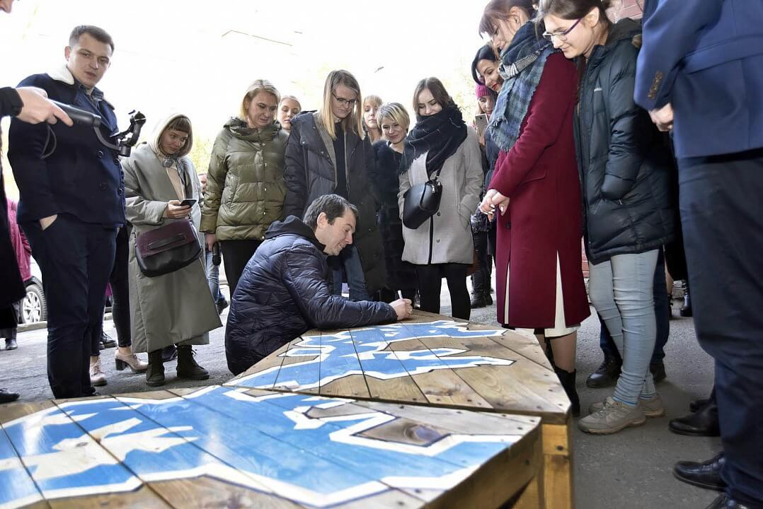 Креативные студенты предложат апатитчанам присесть на Имандру