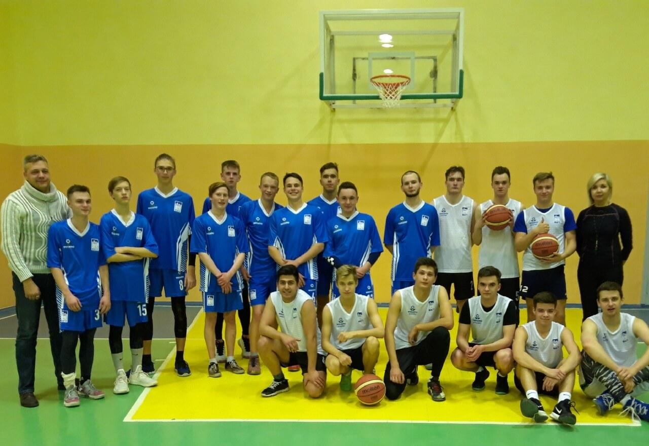 Поздравляем наших баскетболистов